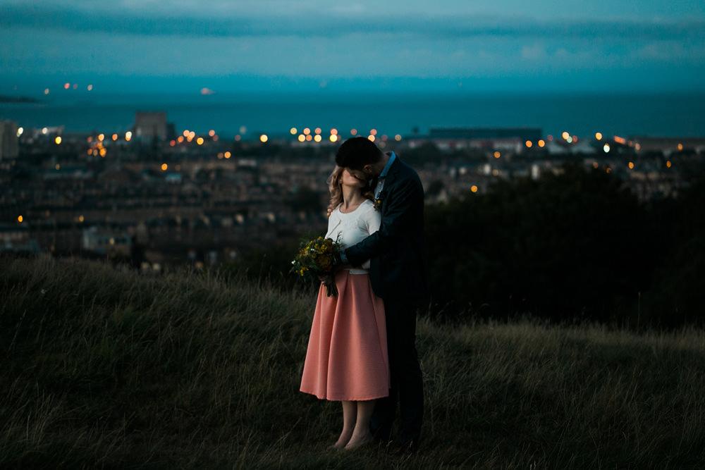 Fine art wedding photographer Edinburgh