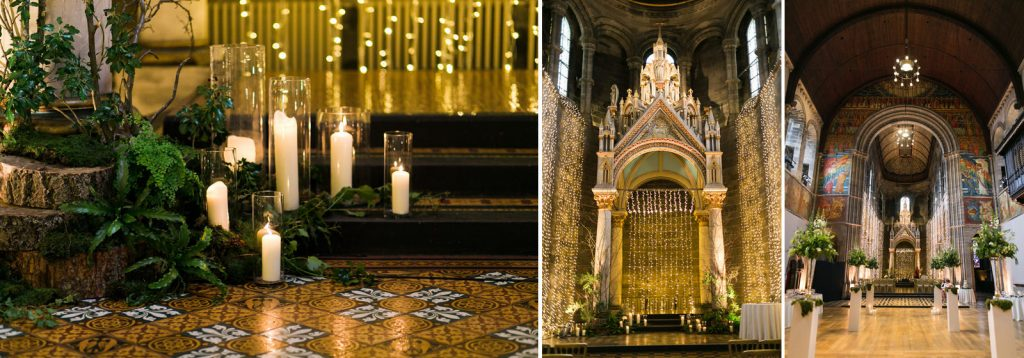 Mansfield Traquair Wedding Interior